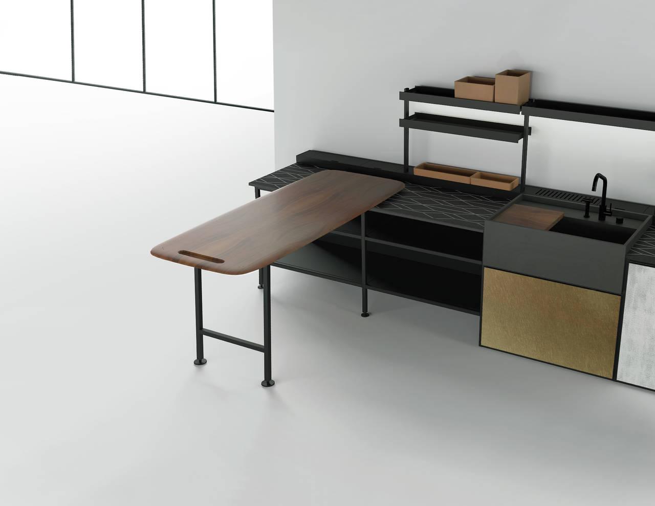 salinas la cucina di boffi firmata urquiola ambiente cucina. Black Bedroom Furniture Sets. Home Design Ideas