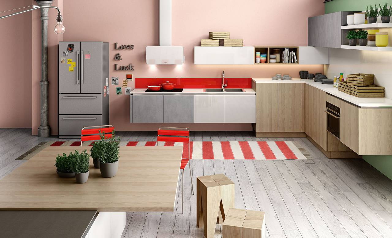 Cucine in legno, un ambiente caldo e vissuto   Ambiente Cucina