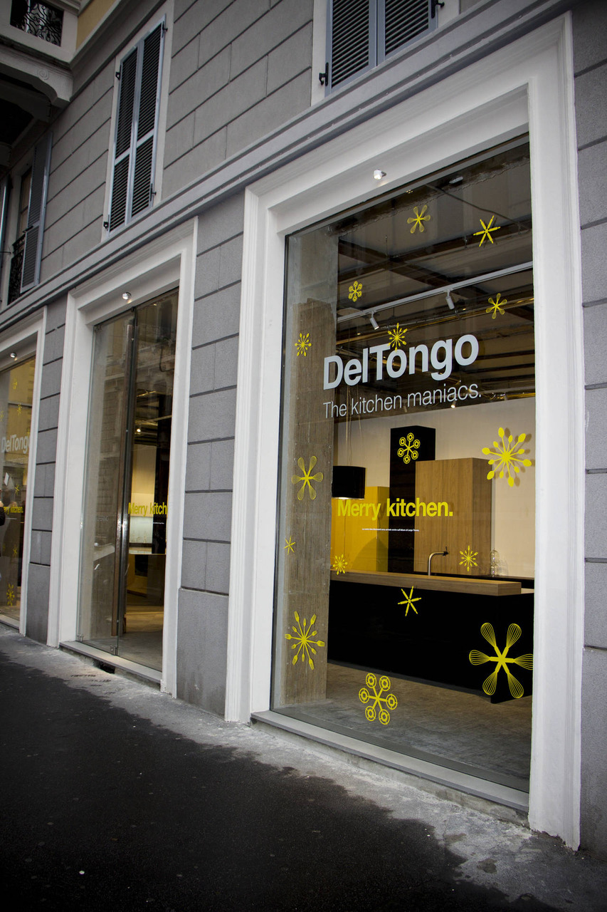 Il nuovo flagship store Del Tongo Solferino a Milano