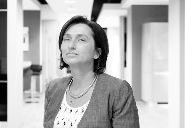 Fabiana Scavolini, responsabile commerciale e marketing Italia dell'azienda Numero Uno tra i produttori italiani di cucine. Foto: Filippo Romano