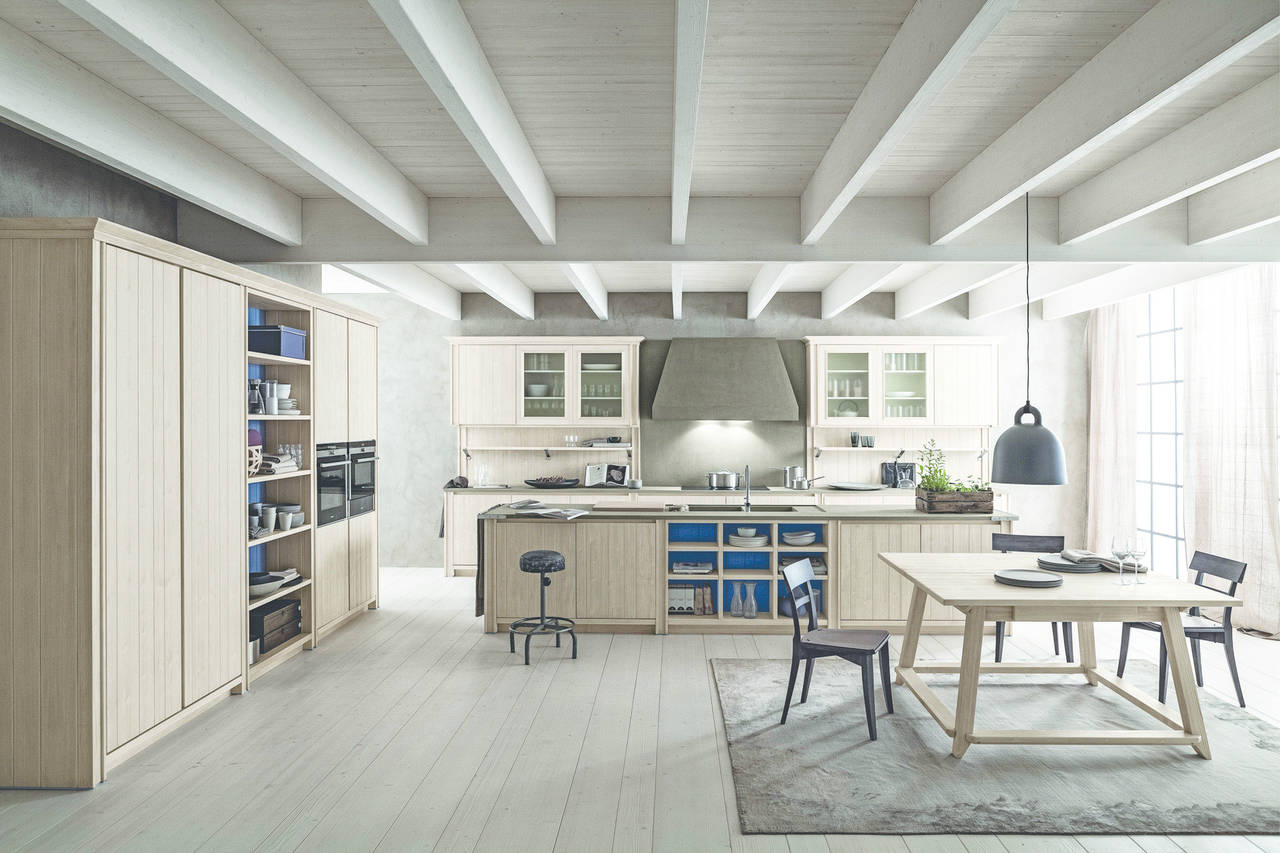 Cucine in legno, un ambiente caldo e vissuto | Ambiente Cucina