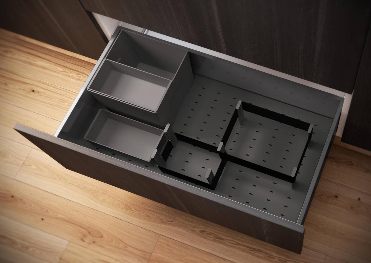 Accessori cassetti cucina cesti mobile angolo waco with - Cassetti per cucina ...