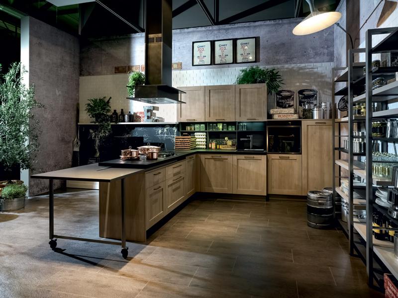 Un 39 aria molto vissuta ambiente cucina - Cucine industrial vintage ...