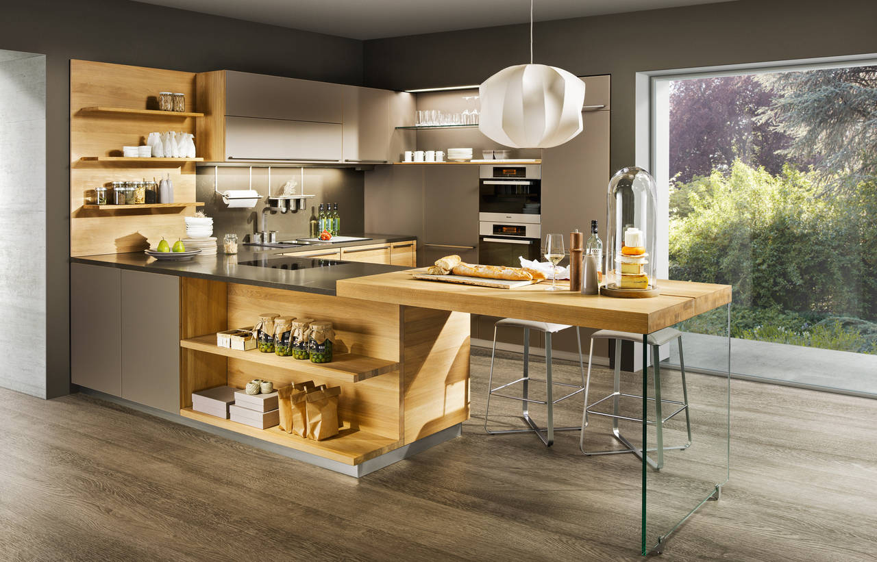 cucine in legno un ambiente caldo e vissuto ambiente cucina. Black Bedroom Furniture Sets. Home Design Ideas