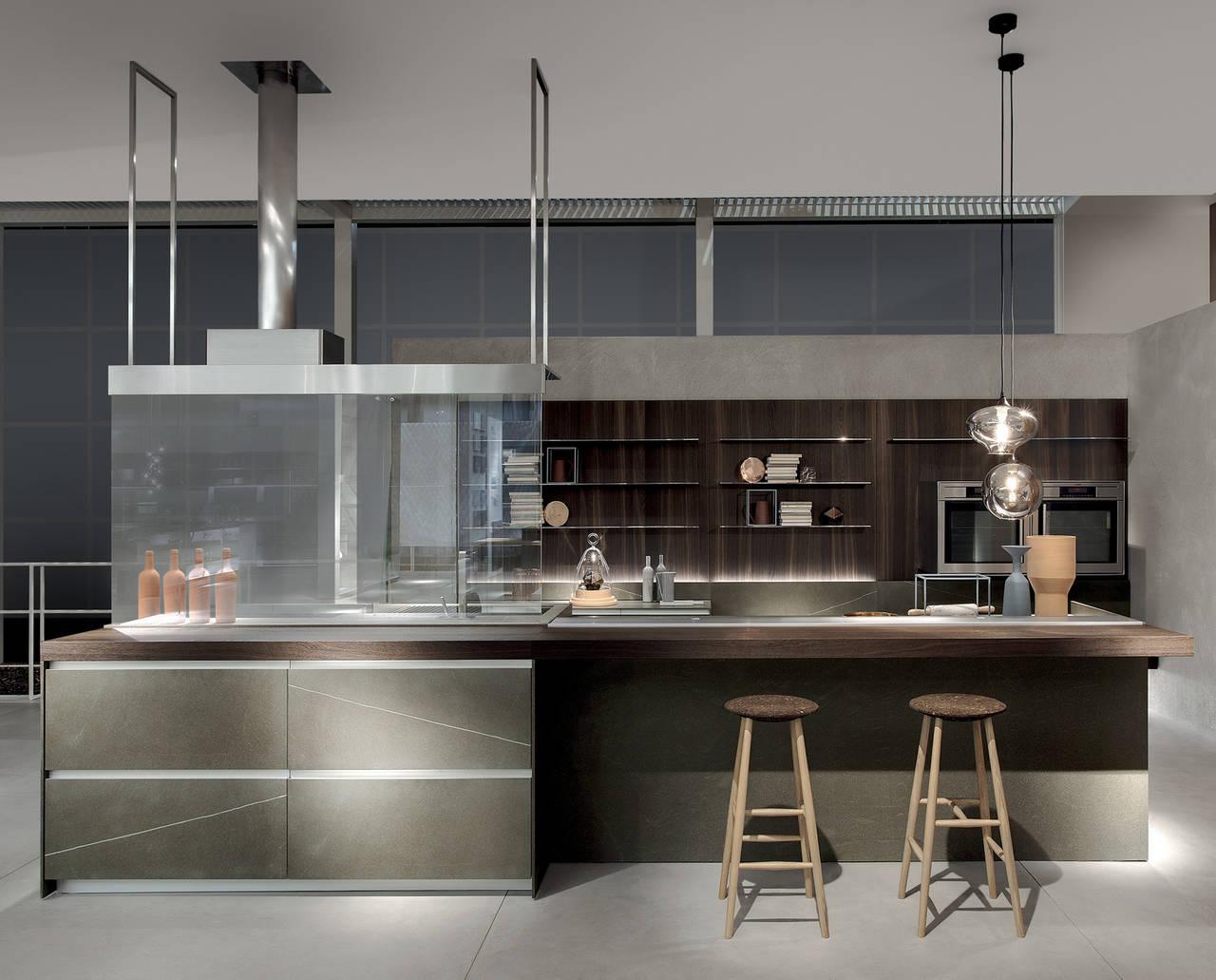 Livingkitchen 2015 focus cucine ambiente cucina - Illuminazione per cucina moderna ...