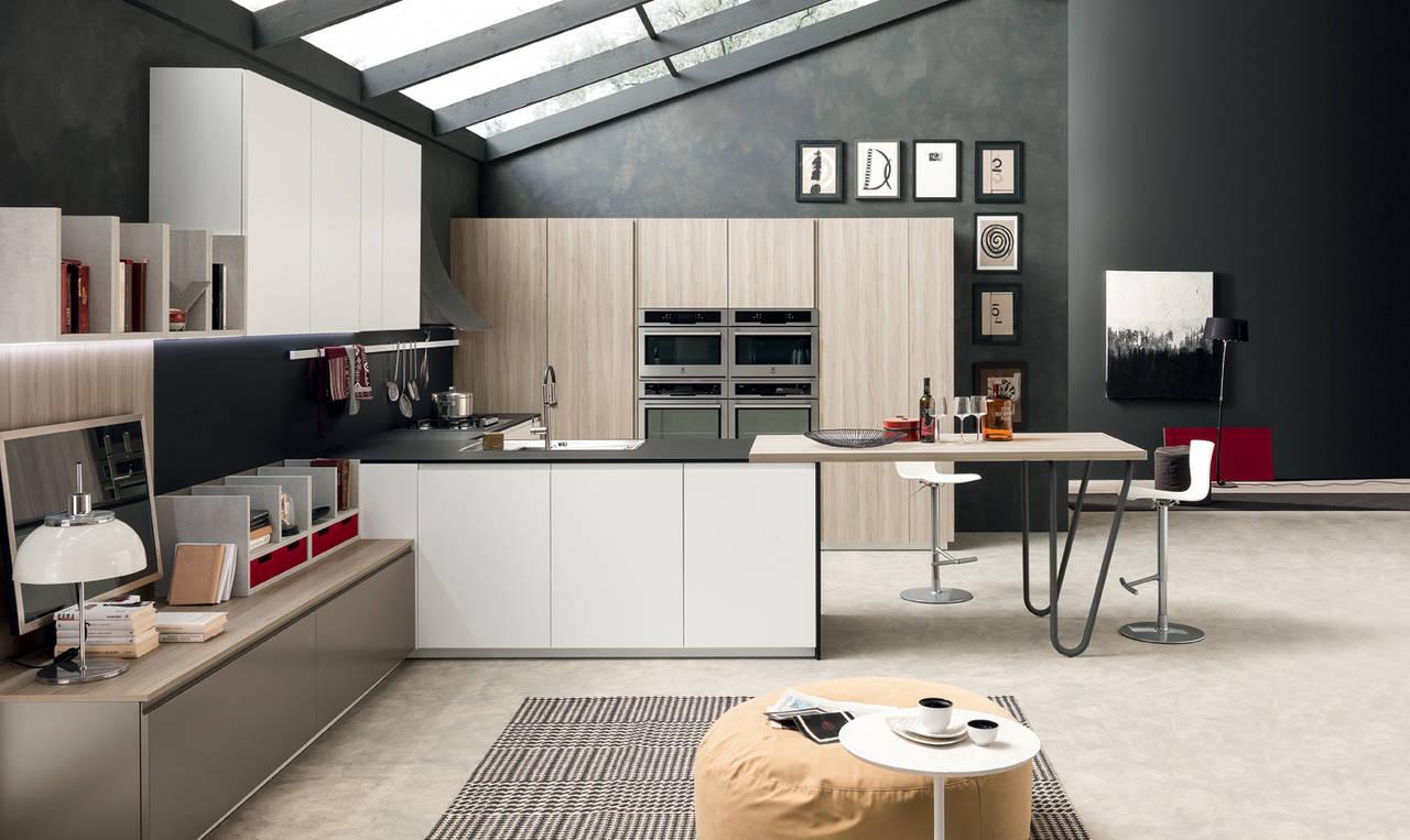 Volumia Oversize è il nuovo sistema cucina di Febal Casa | Ambiente ...