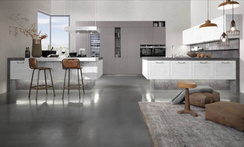 cucina cosmo by rational rovere bianco