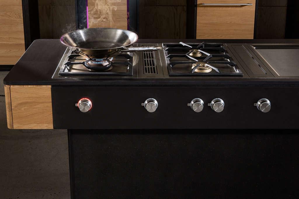 Vooking Kitchen - l'unità per la cottura. Foto © Liebert Michael
