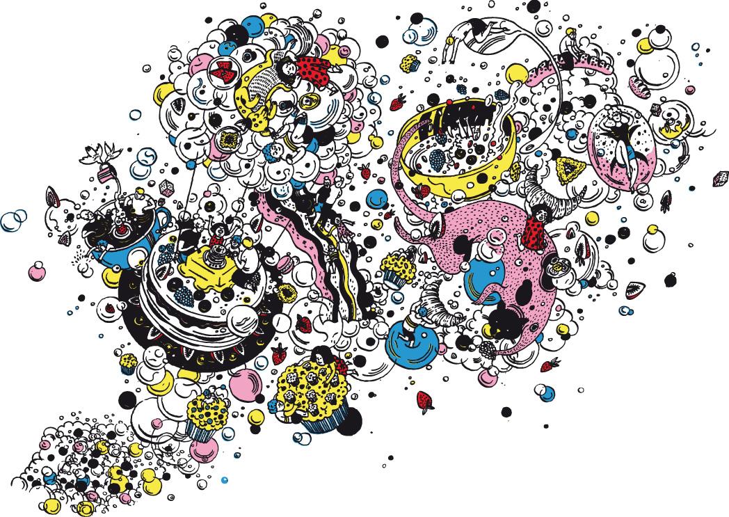 Franke illustrazione Victo Ngai