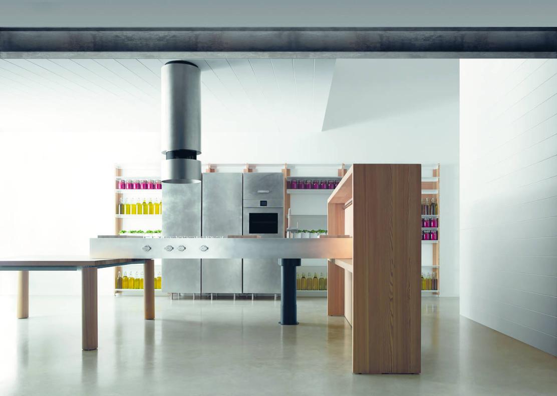 Atmosfere industriali per la cucina urbana ambiente cucina for Aziende cucine design