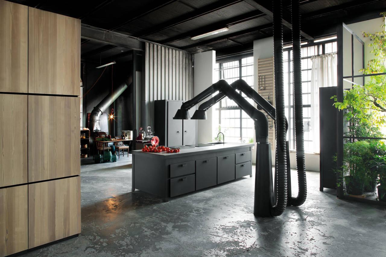 Amato Atmosfere industriali per la cucina urbana | Ambiente Cucina YK55