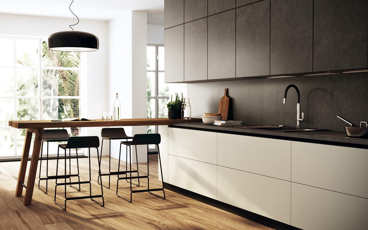 Il gres entra nelle cucine scavolini ambiente cucina for Programma per comporre cucine