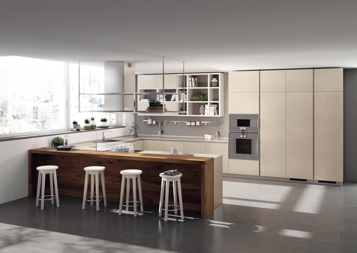 Il gres entra nelle cucine Scavolini | Ambiente Cucina