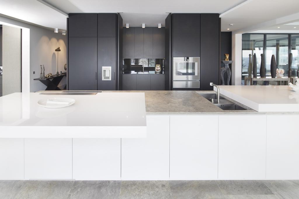 Attico Amsterdam CEA design cucina su misura