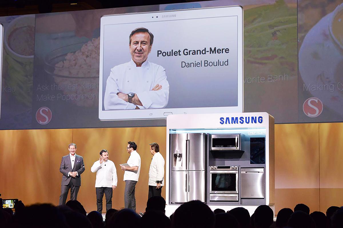 Domotica in cucina con il nuovo Chef Tablet di Samsung