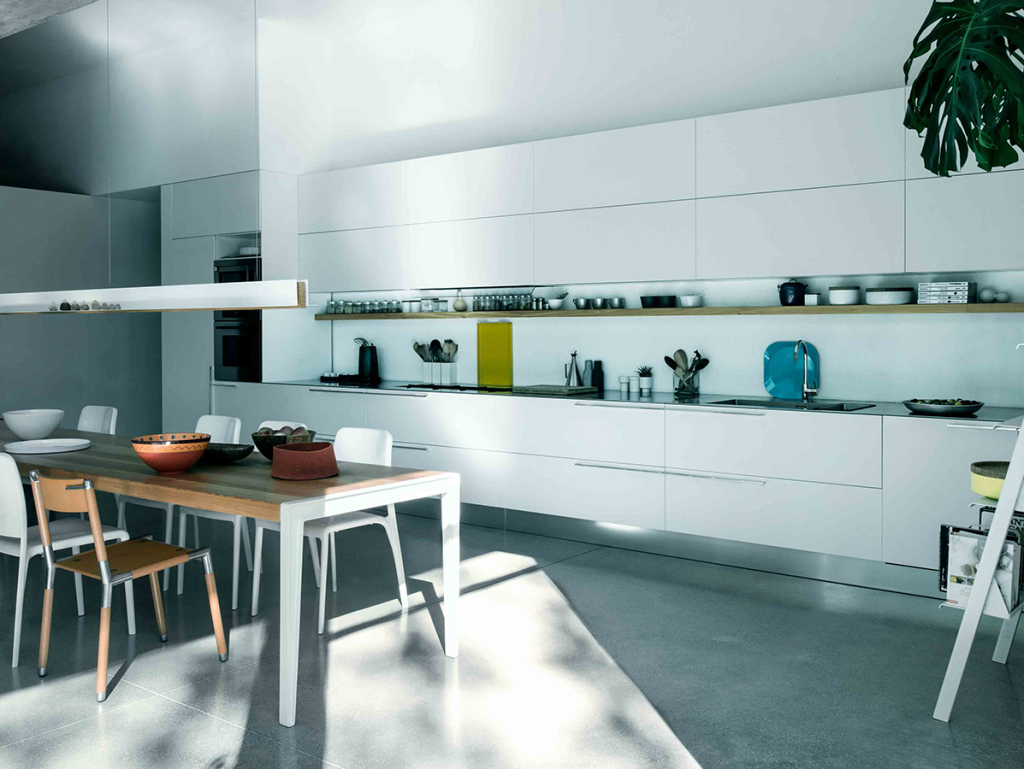 Cesar Kalea cucina progetto residenza udine