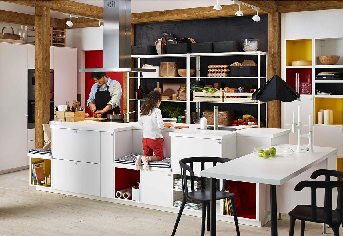 Temporary store e showroom Ikea a Milano | Ambiente Cucina