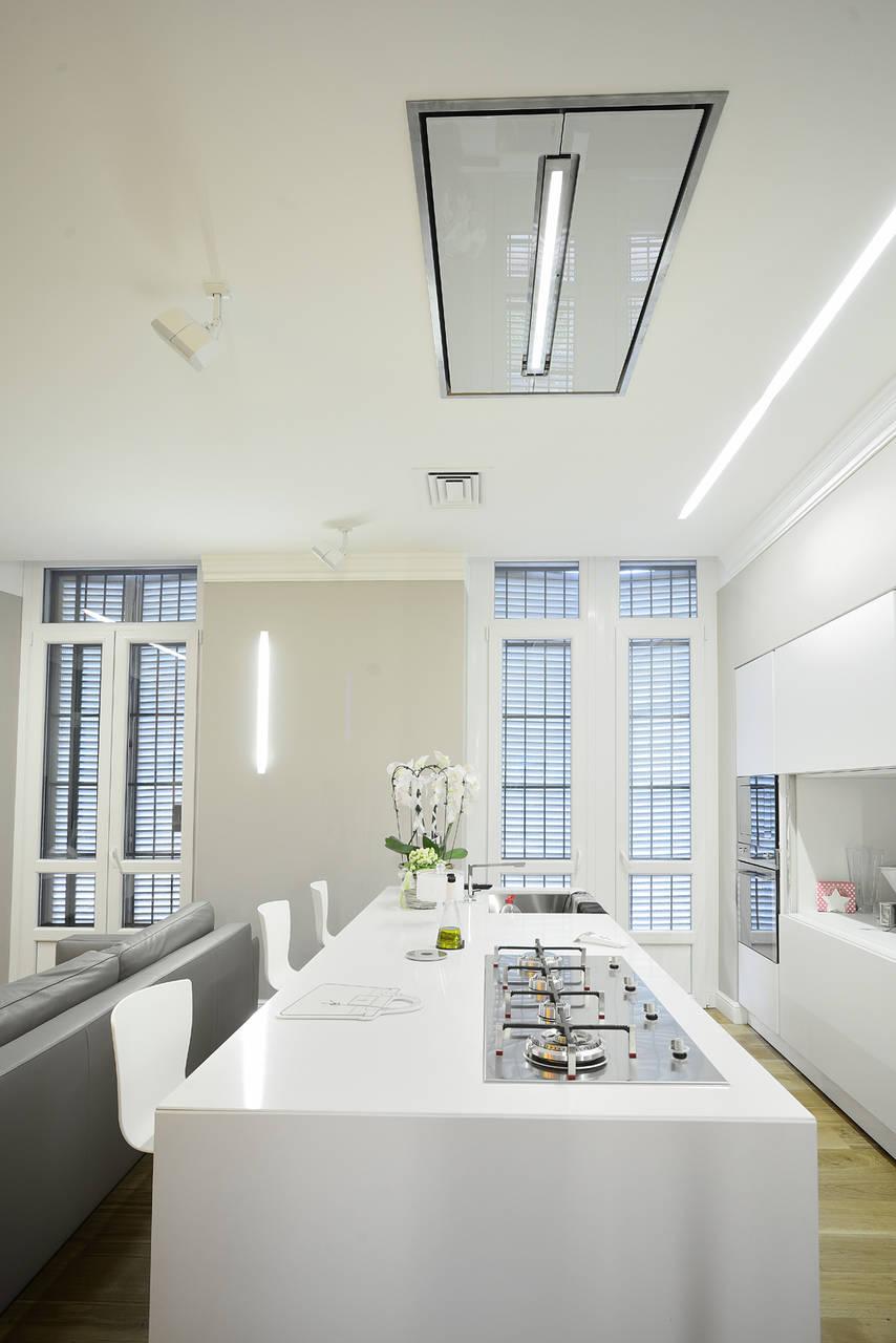 Elica per la ristrutturazione di un open space a torino - Elica cappe cucina ...