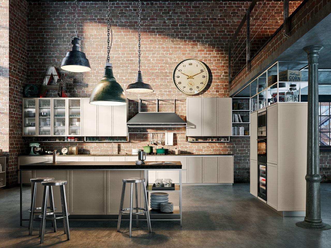 Cucine Dal Gusto Classico Contemporaneo Ambiente Cucina #836648 1280 960 Foto Di Cucine Vecchie