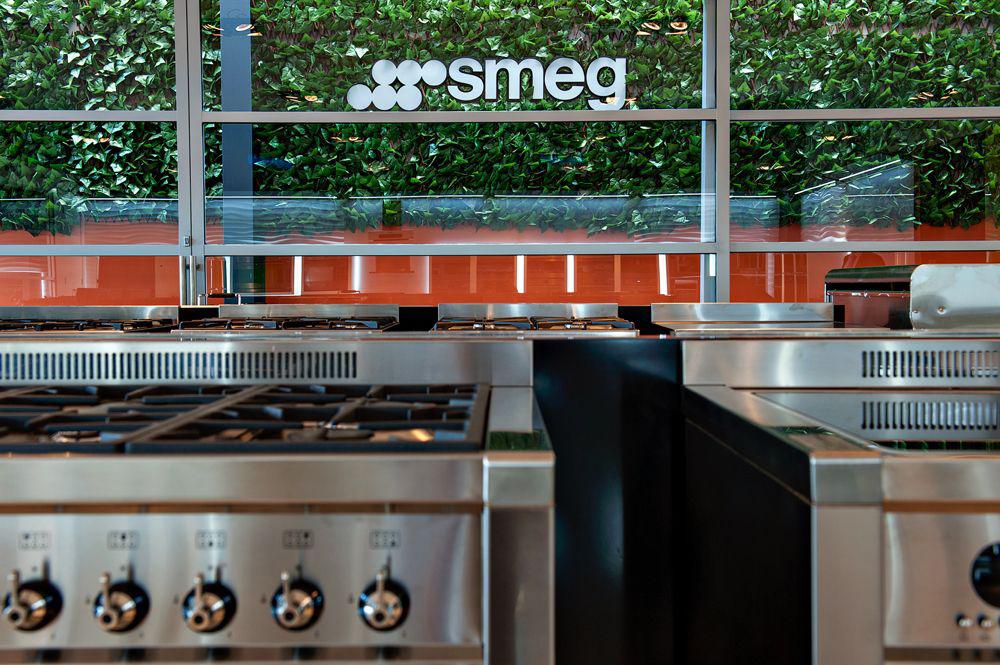 Smeg, il nuovo showroom di città del messico - design elettrodomestici