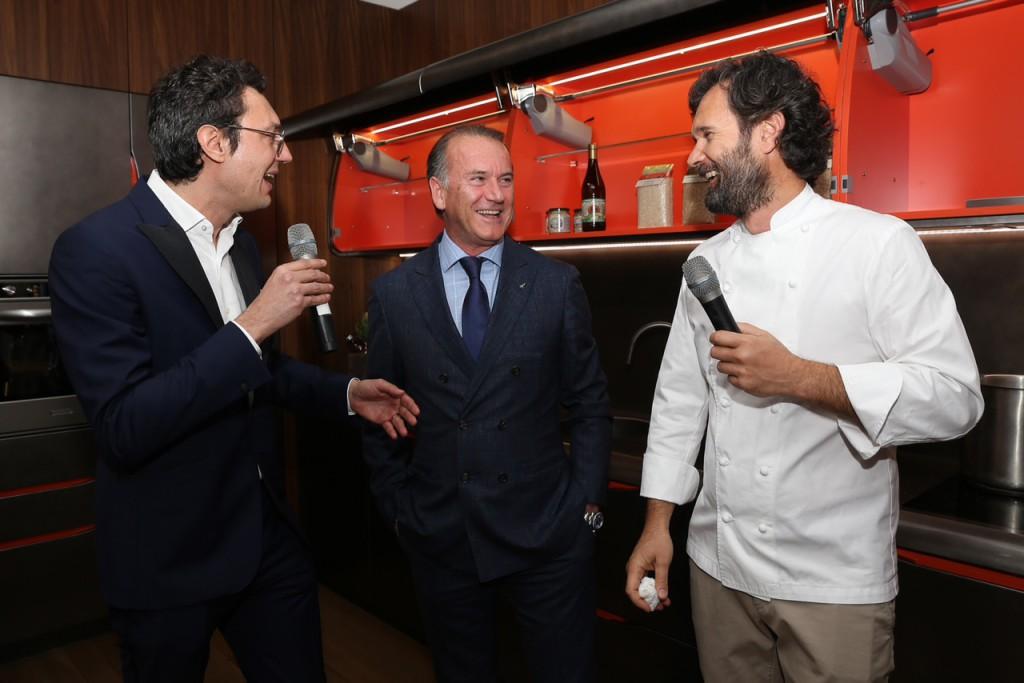 Biefbi cucina Bertone Design, Carlo Cracco 2015