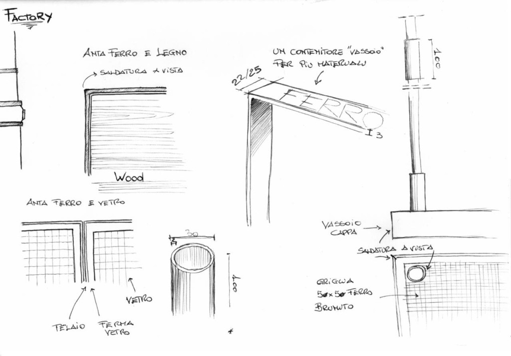 Factory cucina aster lorenzo granocchia - Ambiente Cucina Expo 2015