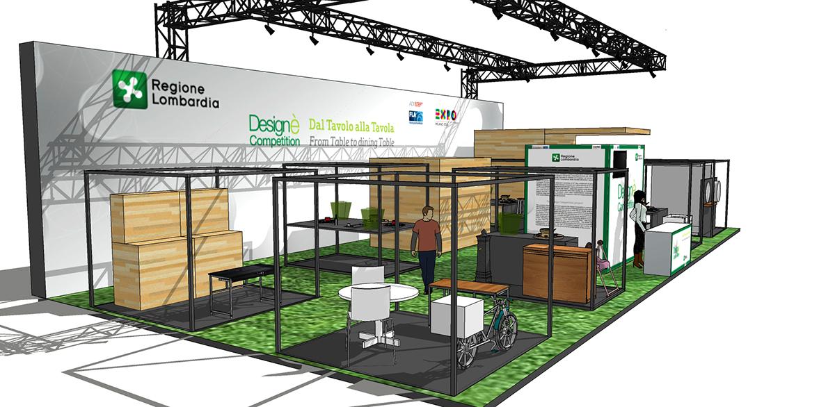 Design Competition - Salone del Mobile - allestimento fiera
