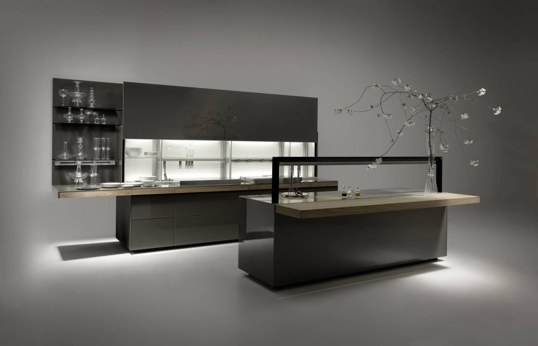 La cucina genius loci di valcucine ambiente cucina - Cucine di design ...