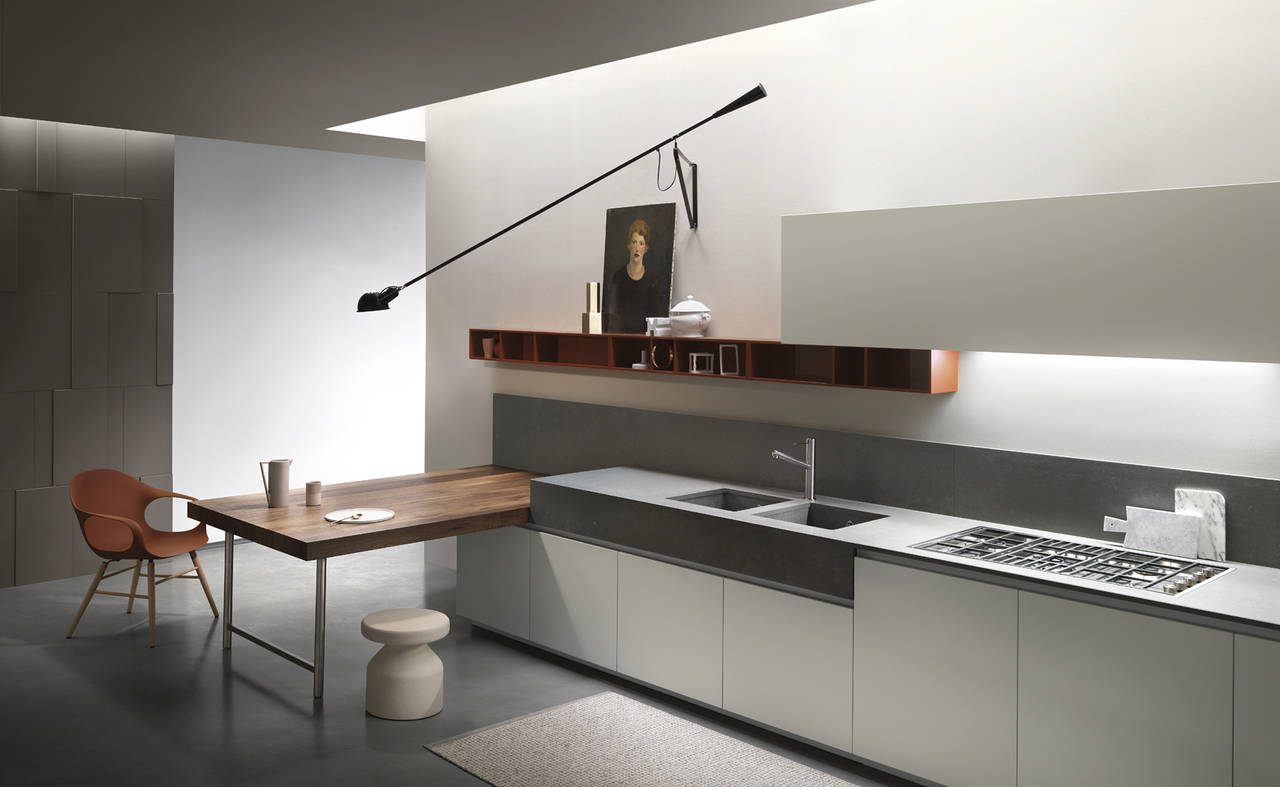 Forum Arredamento.it •Cucina effetto cemento bianca o beige quasi ...