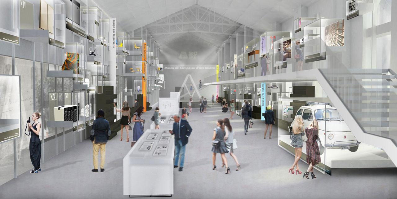 La futura sede di ADI a Milano