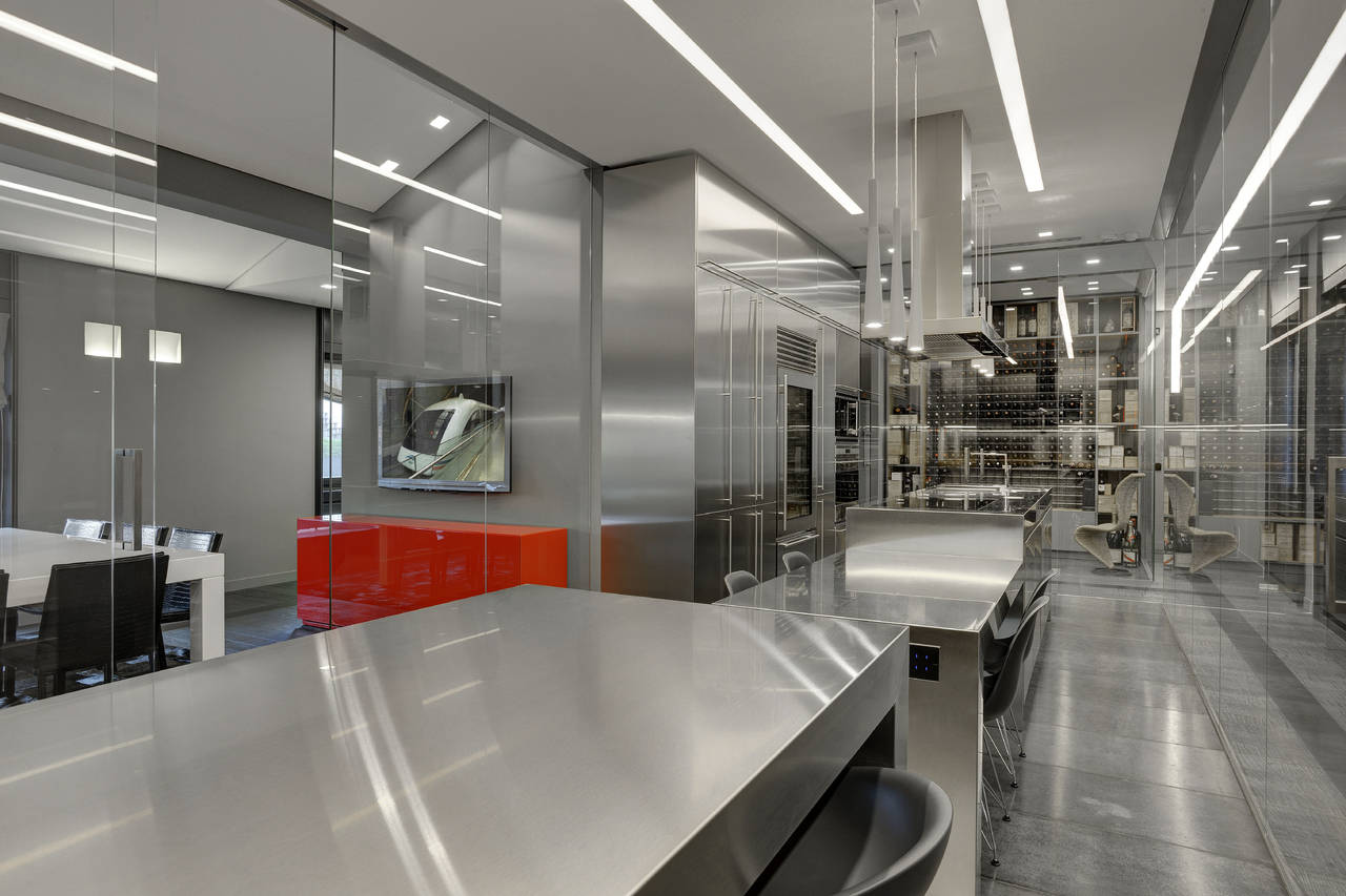 Showroom frigo 2000 a milano ambiente cucina for Gelosa arredamenti lissone