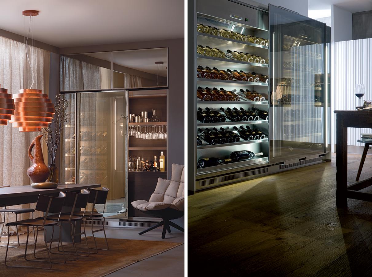 Cantine vino - eletrdomestici e arredi per cucine design, arclinea