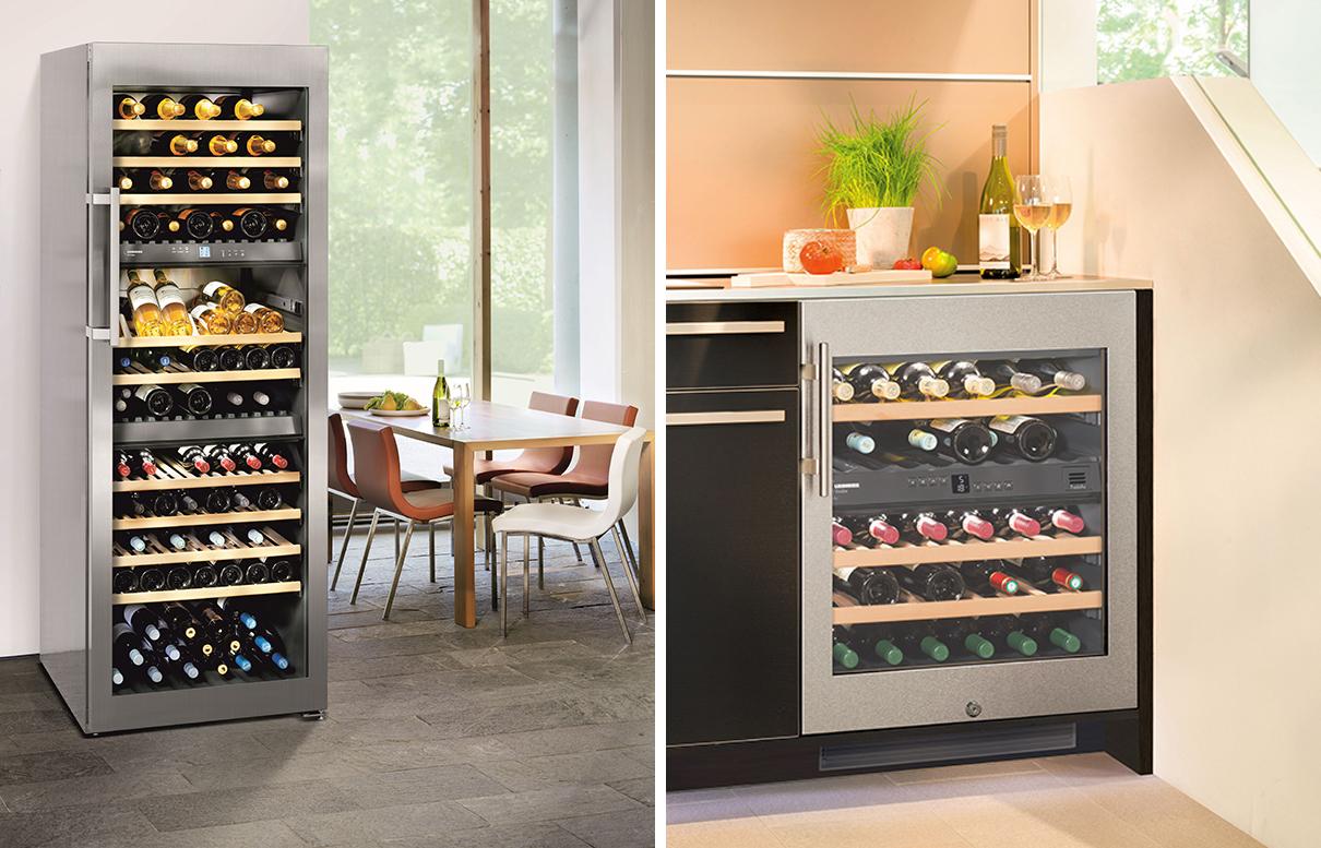 Cantine vino - elettrodomestici e arredi per cucine design, libherr