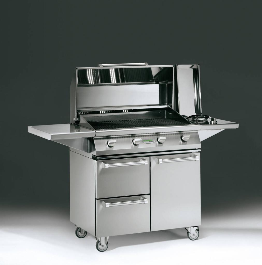 Grande cura nei dettagli e molta potenza per Aain, il barbecue proposto da Palazzetti.