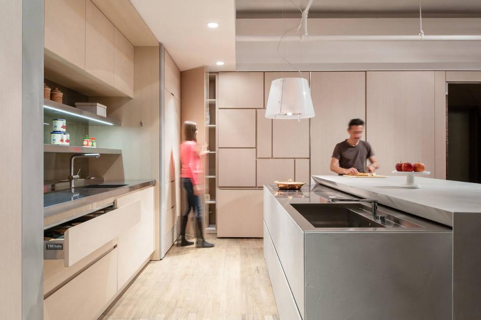 Cucina su misura Design-Apart, New York Loft - TM Italia