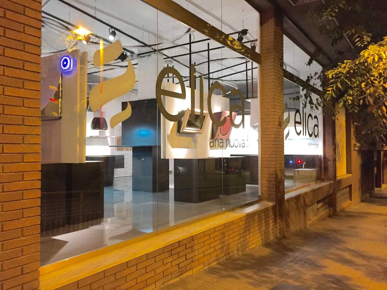 Showroom e nuova sede Elica a Barcellona