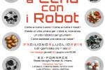 A cena con i Robot