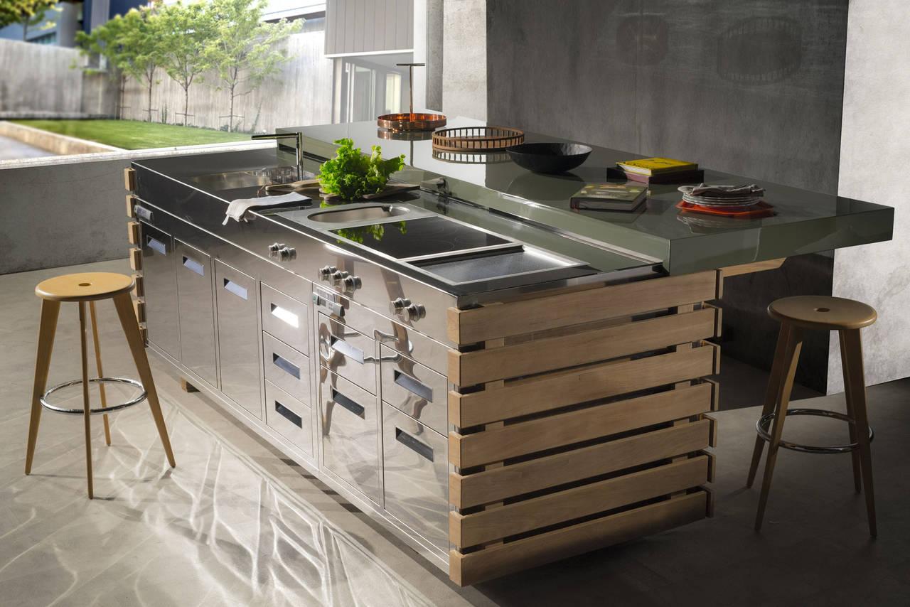Cucine Da Esterno Prezzi cucinare e vivere outdoor | ambiente cucina
