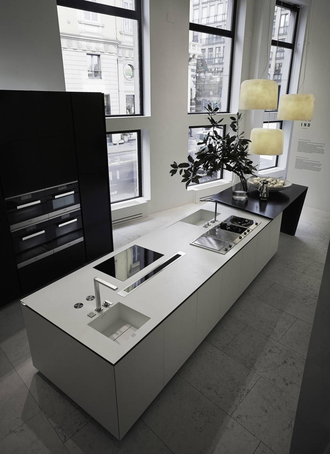 Dupont corian per le cucine varenna ambiente cucina - Schienali per cucine ...
