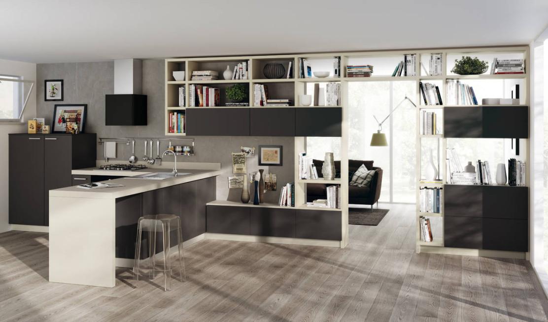 Scavolini interpreta la zona living | Ambiente Cucina