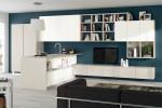 Scavolini Living - modulo integrato tra cucina e zona living. Modello Liberamente