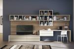 Scavolini Living - modulo indipendente Modulo 365 tra cucina e zona living. Modello Motus