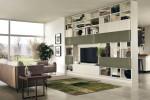 Scavolini Living - modulo integrato tra cucina e zona living. Modello Motus 22