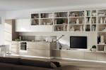 Scavolini Living - modulo integrato tra cucina e zona living. Modello Motus 59
