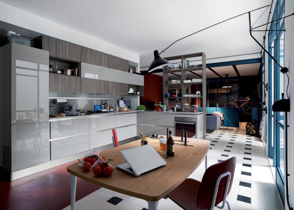 La cucina Carrera Go Plus scelta per la casa di Jack.