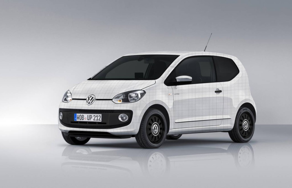 Volkswagen UP Garage Italia Customs di Lapo Elkann.