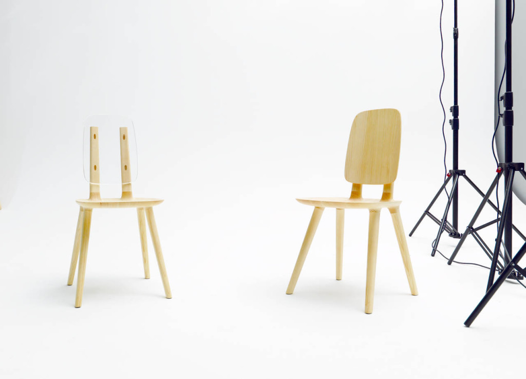 Alias. Sedia Tabu Backrest, design Eugeni Quitllet