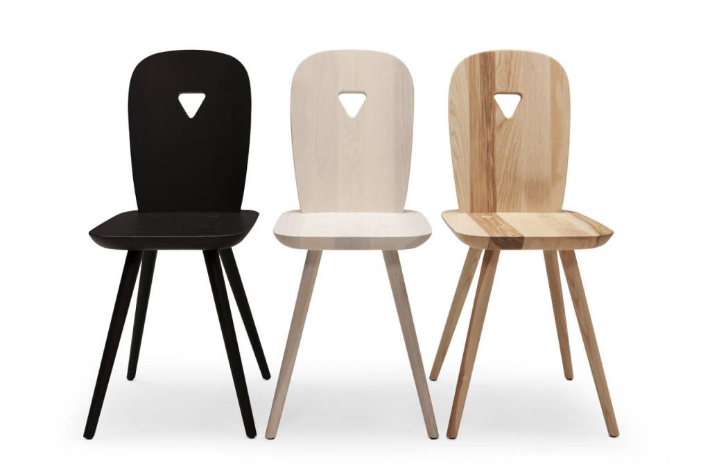 Casamania. Sedia La-Dina, design Luca Nichetto