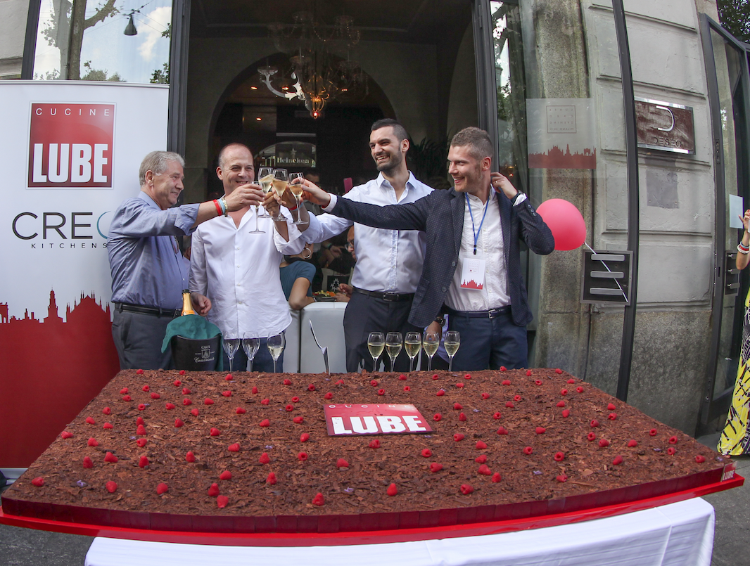 Lube in forze a Milano | Ambiente Cucina