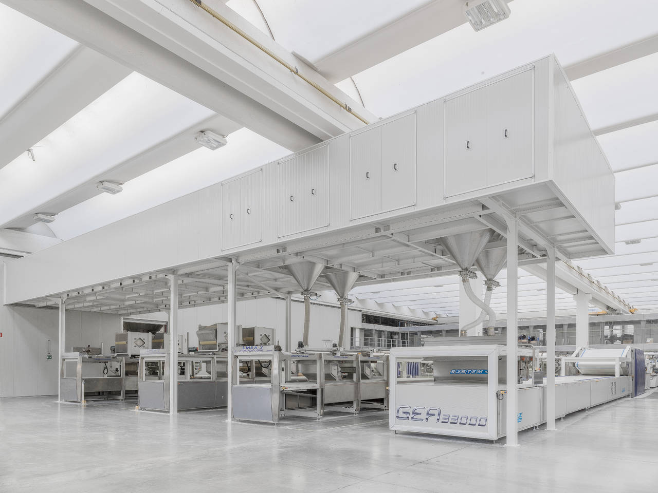 Impianto produttivo fiorano GEA di Laminam 2015
